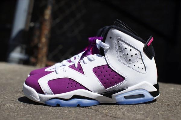 Air Jordan 6 Bright Grape Vivid Pink (2)