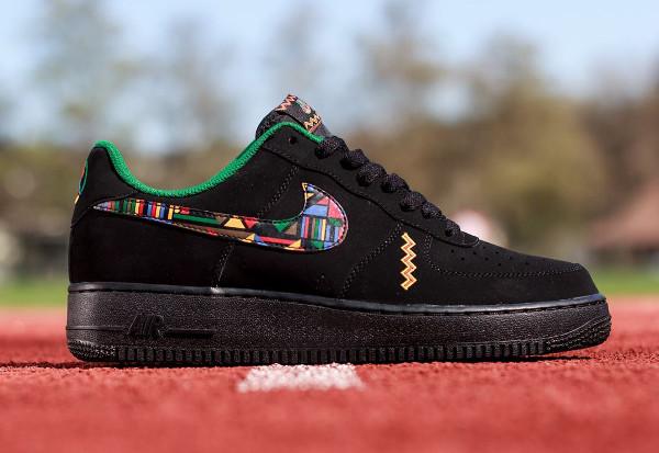 Nike Air Force 1 Low Black Multicolor (1)