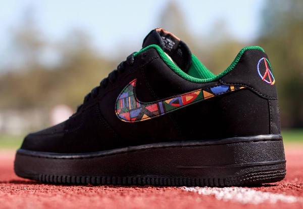 Nike Air Force 1 Low Black Multicolor (2)