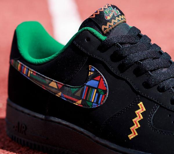 Nike Air Force 1 Low Black Multicolor (3)