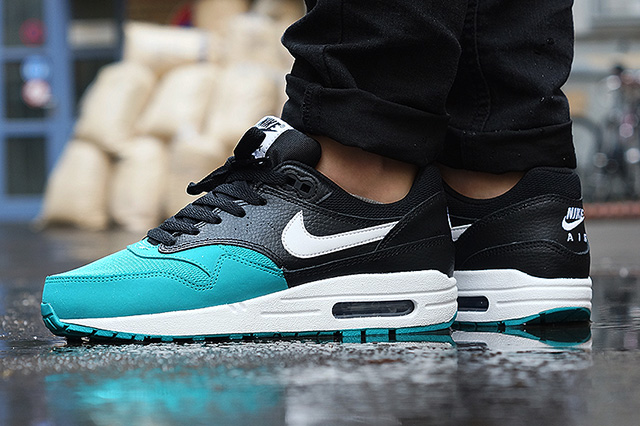 nike air max 1 youth gs bleu