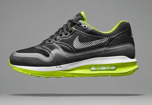 Nike Air Max Lunar1 Black Dark Grey-Volt-Pure Platinum
