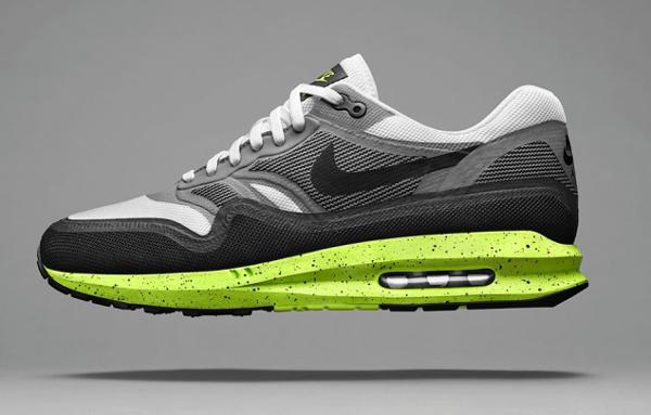 Nike Air Max Lunar1 White Black-Cool Grey-Volt