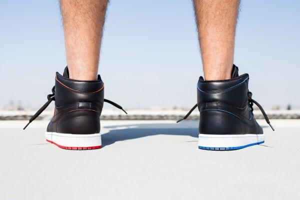 Nike SB Jordan 1 x Lance Mountain aux pieds (3)