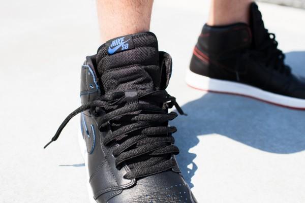 Nike SB Jordan 1 x Lance Mountain aux pieds (4)