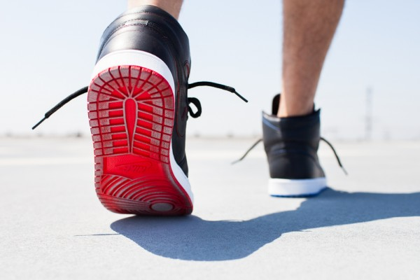 Nike SB Jordan 1 x Lance Mountain aux pieds (5)