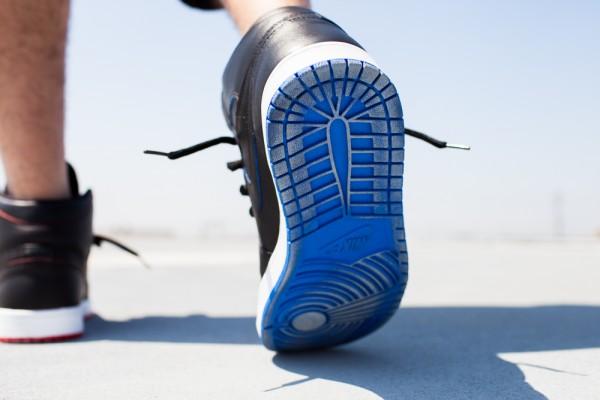 Nike SB Jordan 1 x Lance Mountain aux pieds (6)
