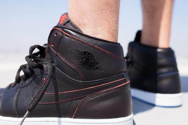 Nike SB Jordan 1 x Lance Mountain aux pieds (7)