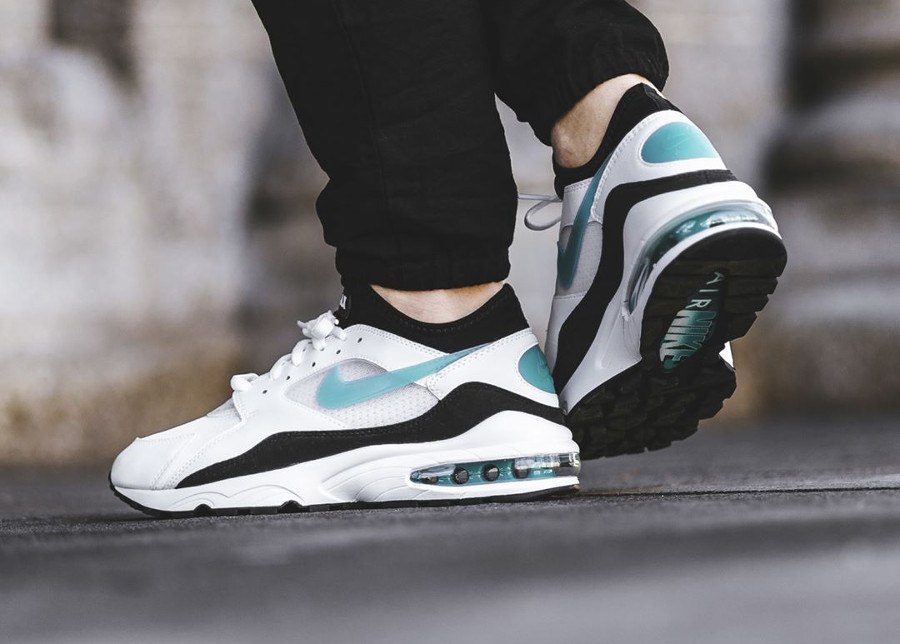 Réédition Nike Air Max 93 OG Menthol Dusty Cactus 2018 - chaussure homme