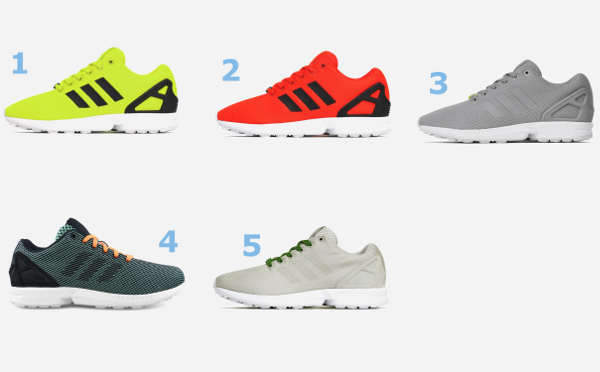 12 Adidas ZX Flux en soldes