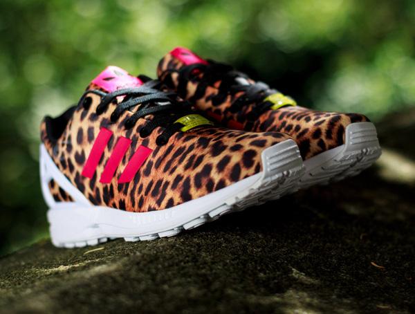 Adidas ZX Flux Leopard  (2)