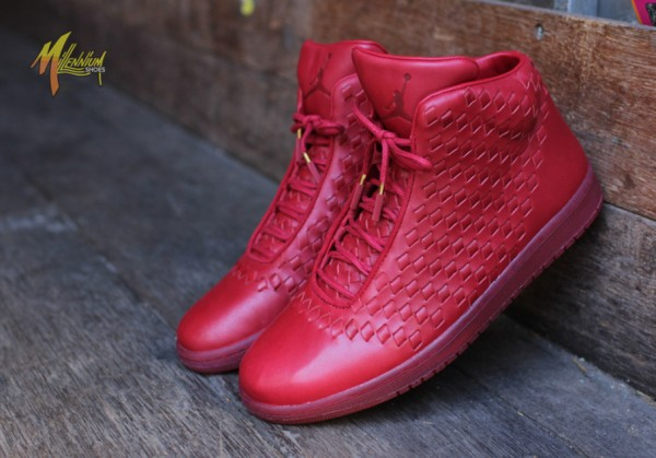 Air Jordan Shine rouge (5)