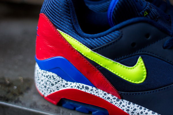 Nike Air 180 Safari Midnight Navy Red (5)