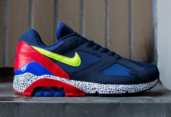 Nike Air 180 Safari Midnight Navy Red (8)