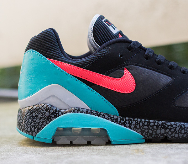 Nike Air 180 safari Black Laser Crimson (3)