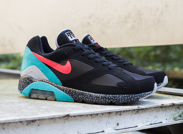 Nike Air 180 safari Black Laser Crimson (4)