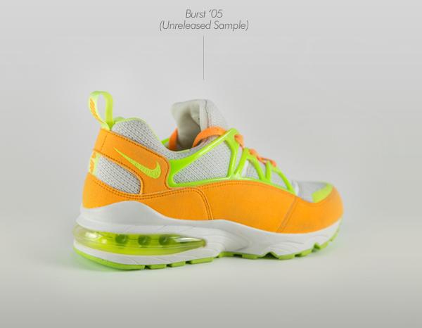 Nike Air Huarache Burst Citrus Hot Lime – White