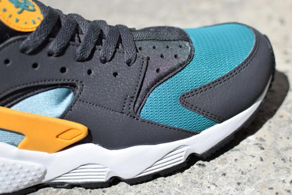 Nike Air Huarache Teal Orange (Catalina) (6)