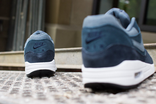 wholesale dealer 6ea93 ca741 Nike Air Max 1 Essential LTR Armory Slate Navy (4)