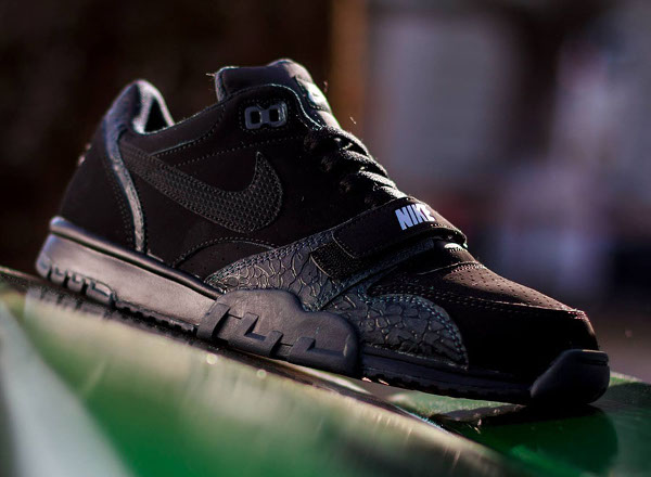 new styles 12bb6 a7244 Nike Air Trainer 1 Low ST Black Elephant (2)