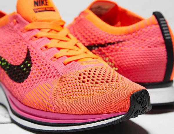 Nike Flyknit Racer Pink Flash (1)
