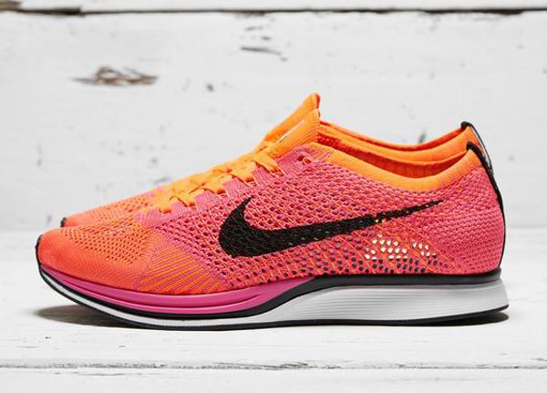 Nike Flyknit Racer Pink Flash (2)