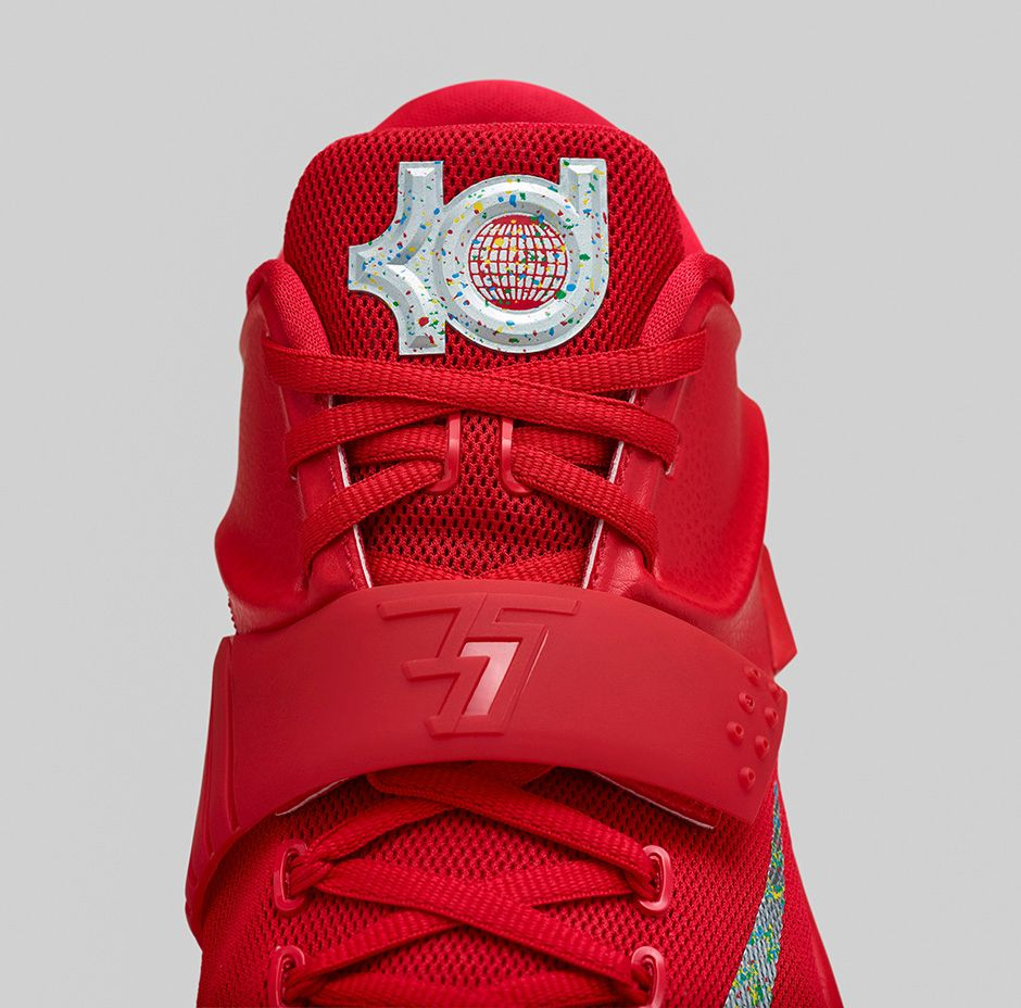 nike kd 7 rouge