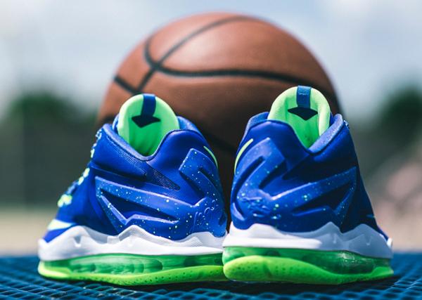 Nike Lebron 11 Low Max Sprite  (1)