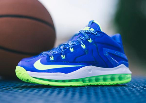 Nike Lebron 11 Low Max Sprite  (3)