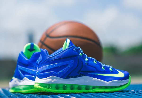 Nike Lebron 11 Low Max Sprite  (5)