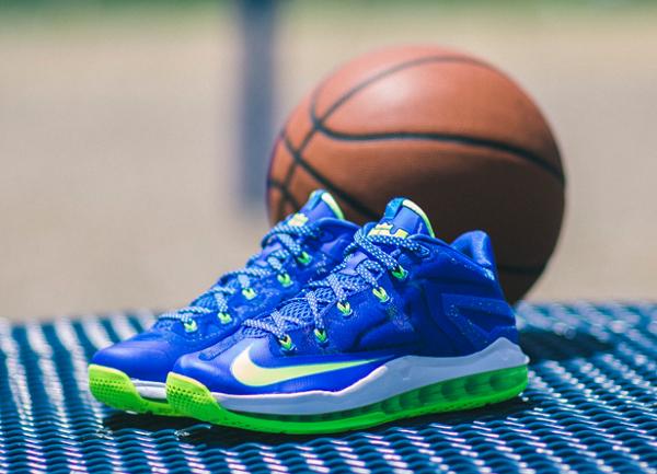 Nike Lebron 11 Low Max Sprite  (6)