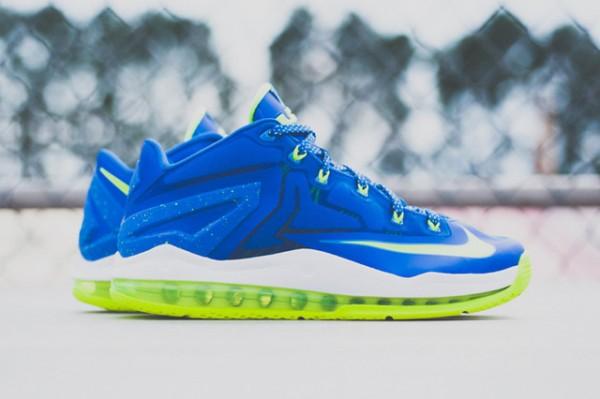 Nike Lebron 11 Low Max Sprite détail (1)