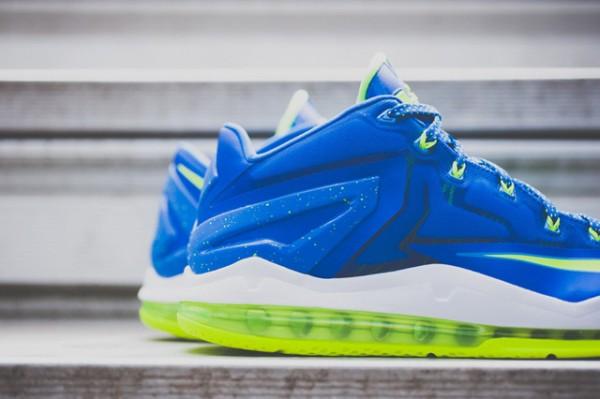 Nike Lebron 11 Low Max Sprite détail (10)