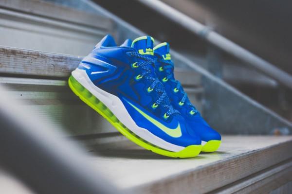 Nike Lebron 11 Low Max Sprite détail (12)