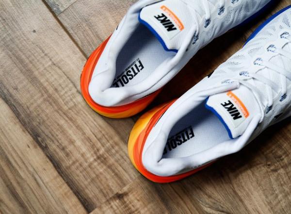 Nike LunarGlide 6 White Black-Hyper Crimson  (4)