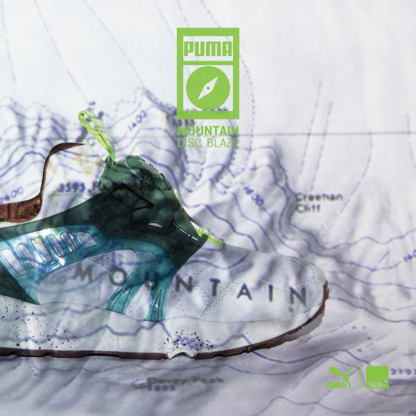Puma Disc Blaze x Size? 'Mountain'