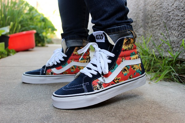 Vans Sk8 Hi Aloha x Star Wars - Beautiful_sole