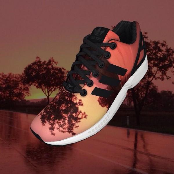 Adidas Mi ZX Flux - Lena_lilablau