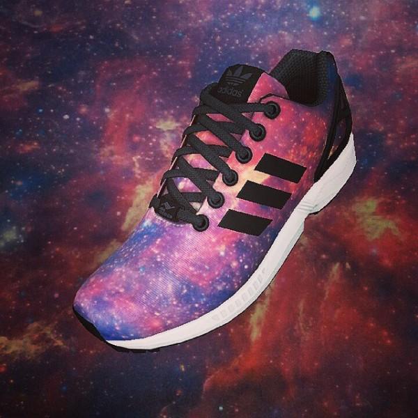 Adidas Mi ZX Flux Nebula - Chelsealouubee
