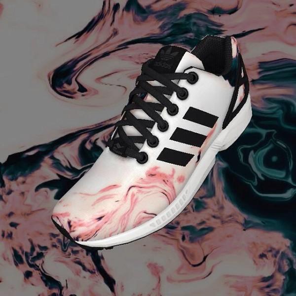 Adidas Mi ZX Flux Nebula - Dreiundneunziger