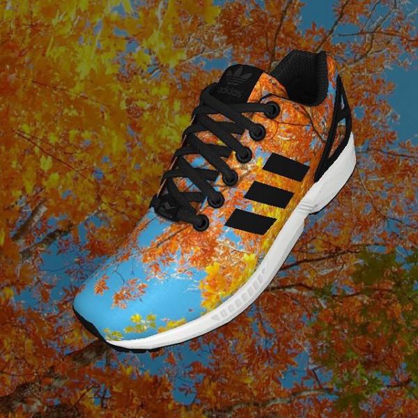 Adidas Mi ZX Flux Nebula - Iamjeffreyjaso