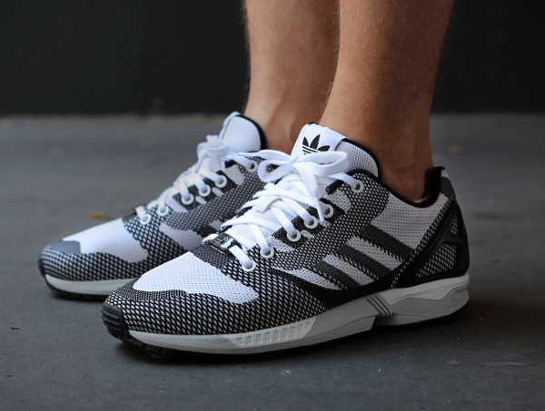 Adidas ZX Flux Black White (5)