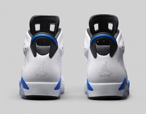 Air Jordan 6 Sport Blue Retro 2014 photo officielle (6)