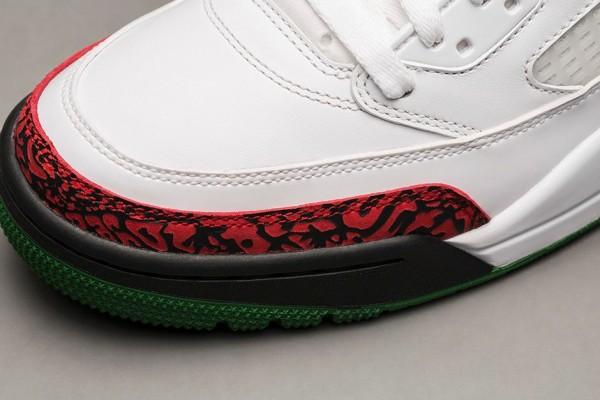 Air Jordan Spizike OG White Cement Grey Green Red Retro 2014 (3)