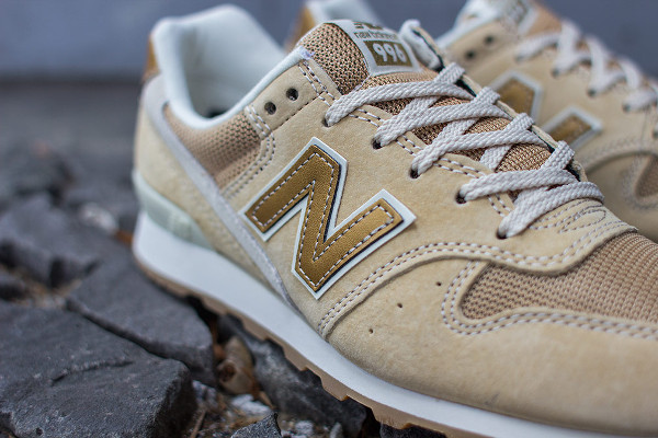 new balance 996 beige gold
