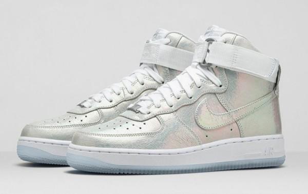 Nike AIR FORCE 1 IRIDESCENT PEARL  (6)