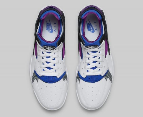 Nike Air Huarache Flight OG (White Blue Berry Black) (2)