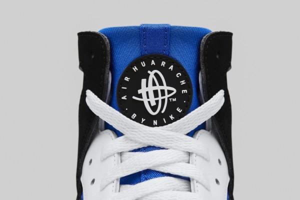 Nike Air Huarache Flight OG (White Blue Berry Black) (4)