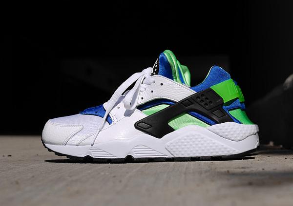 Nike Air Huarache Scream Green 2014