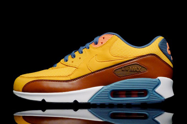 new arrival 21ab1 7d948 ... nike air max 90 essential university gold cognac (3)